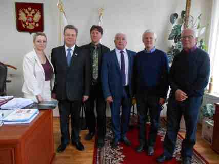 Besuch beim Bürgermeister